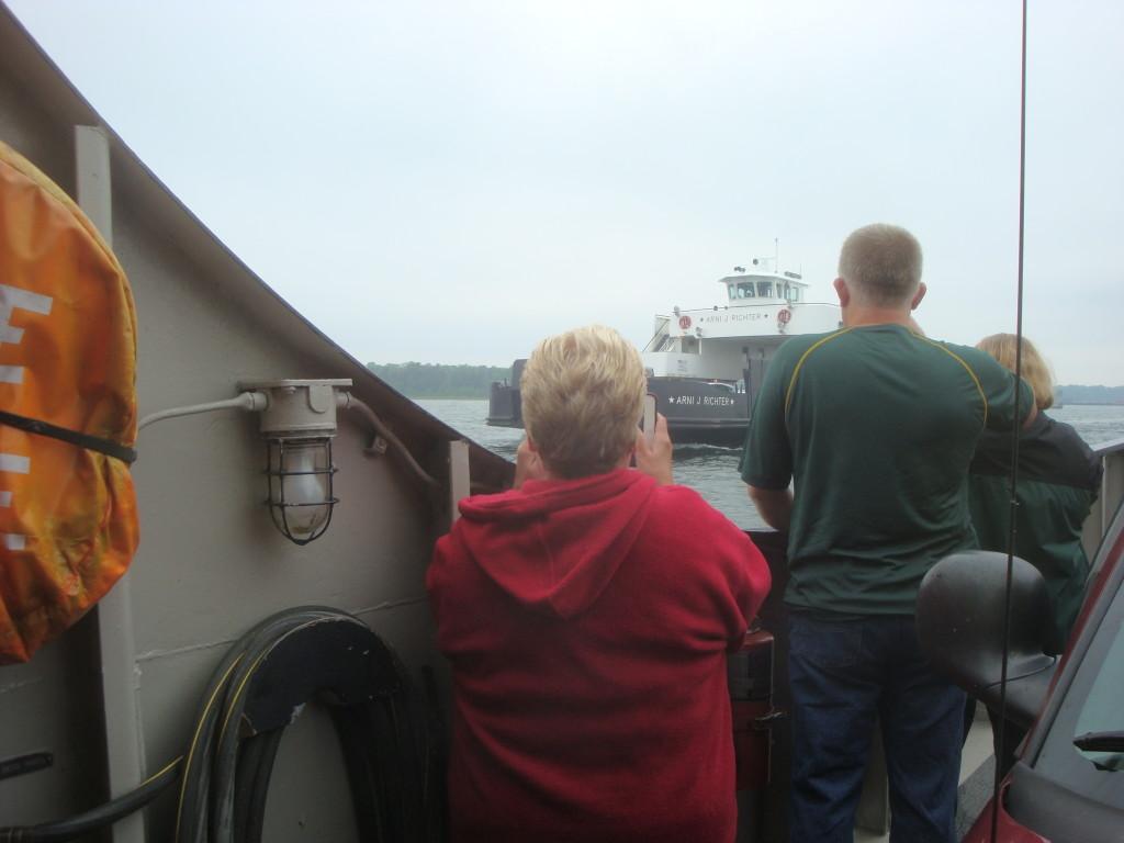 Ferry ride to Washington Island.